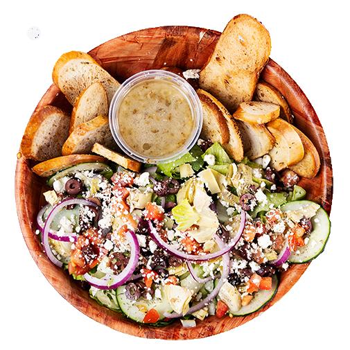 GEAUX GREEK salad