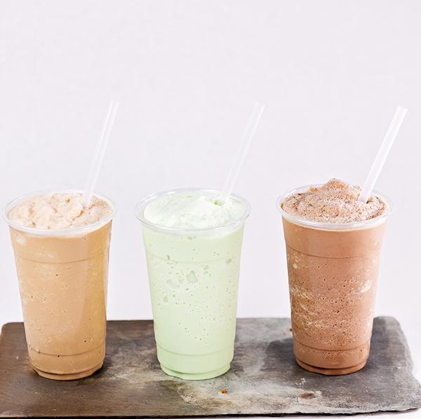 Creole Bagelry Frozen drinks